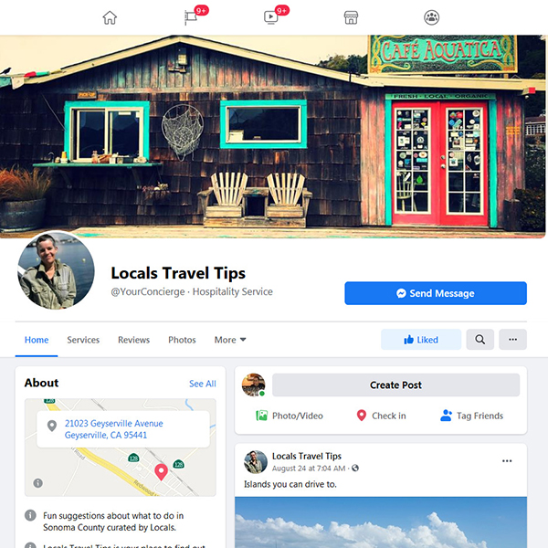 Locals Travel Tips Facebook Page