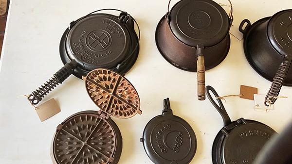 Cast Iron Waffles