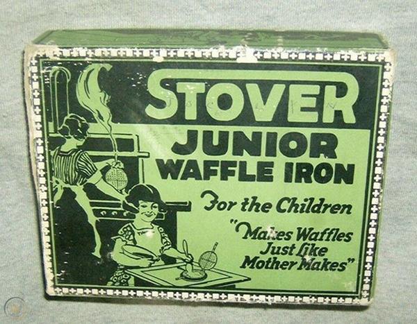 Stover Junior Waffle Iron
